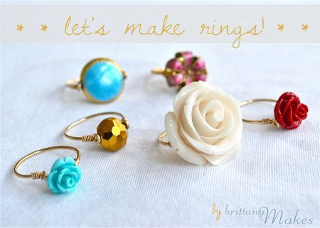 Easy DIY rings for any outfit!