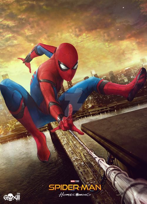 Spider-Man: Homecoming - http://goxiii.deviantart.com/art/Spider-Man-Homecoming-Poster-655412641