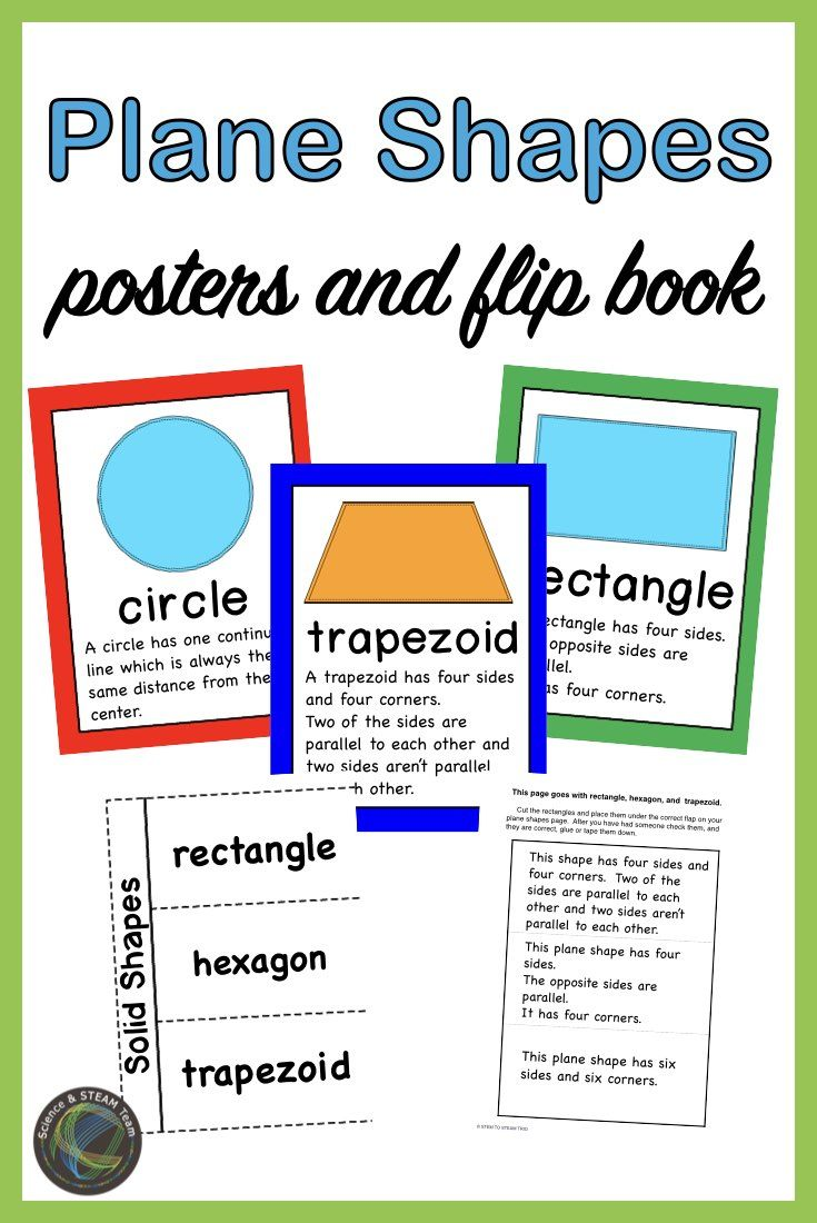 Planes Shapes Posters And Flip Books Shape Posters Flip Book Plane Shapes [ 1100 x 735 Pixel ]