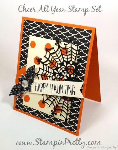 a sneak peek halloween card of cheer all year halloween ideashalloween cardsstampin - Stampin Up Halloween Ideas