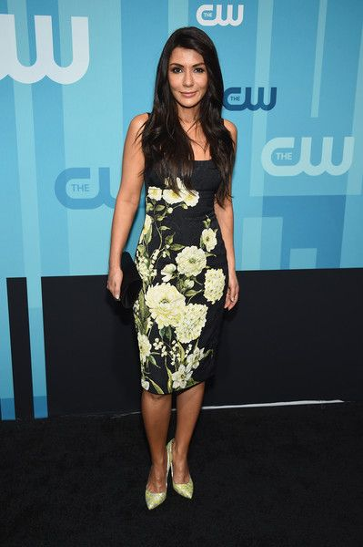 Marisol Nichols attends the 2017 CW Upfront on May 18, 2017 in New York City.