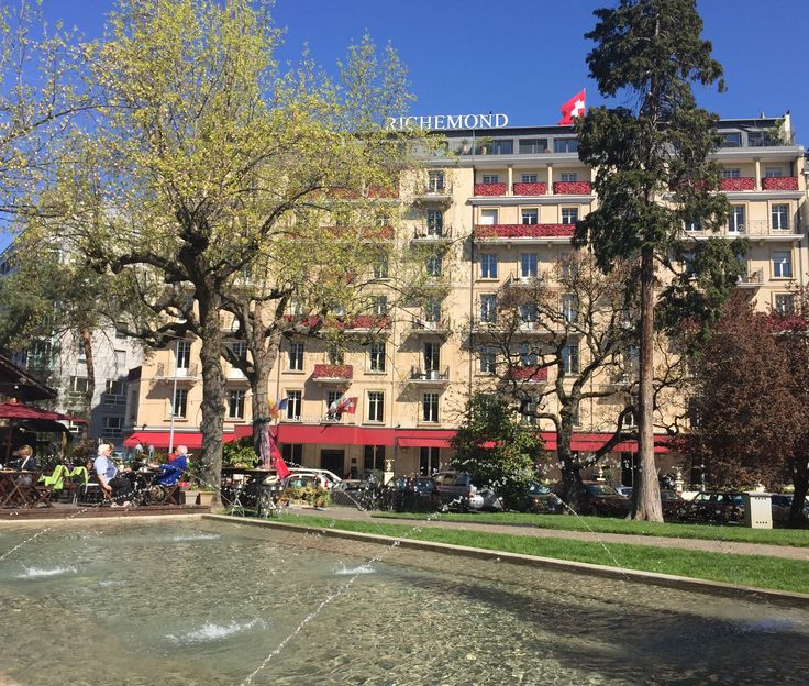 Le Richemond at spring time