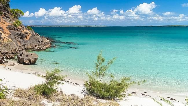 A beach on Groote Eylandt, in the Northern Territory.