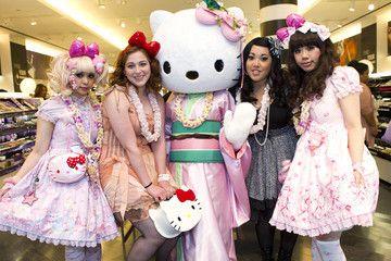 Julie Doll Sandy Bear Sephora Hello Kitty Beauty Event With Hello Kitty Designer Ms. Yuko Yamaguchi At Sephora Ala Moana Store