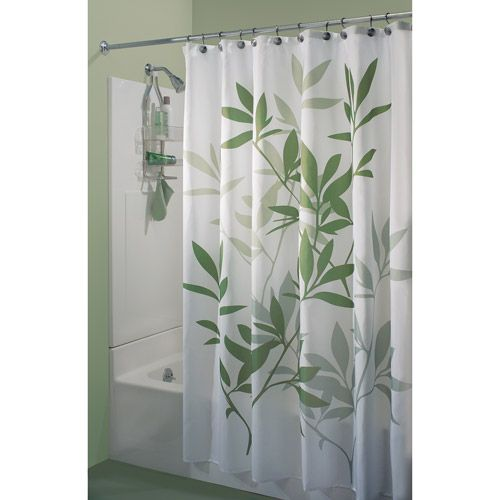 Interdesign Leaves Shower Curtain Shower Curtains