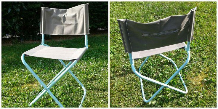 Redonner vie à une vieille Chaise Pliante de camping
