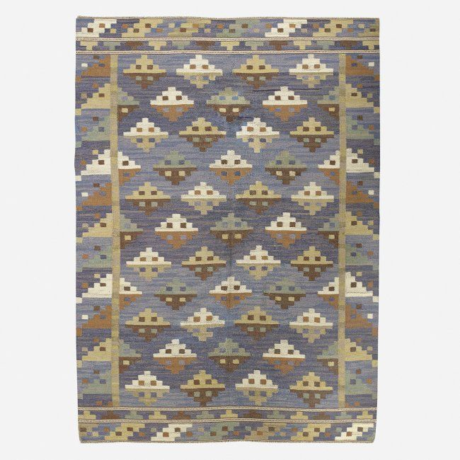 Blue And White Scandinavian Rug: 84 Best Images About Barbro Nilsson Rugs On Pinterest