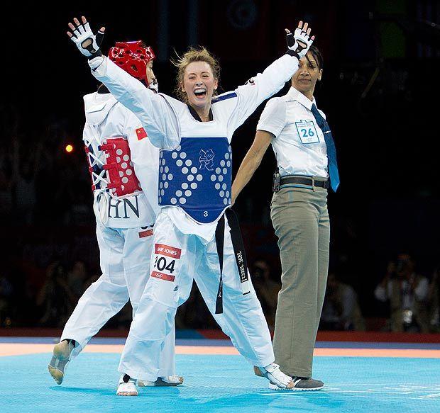 jade jones wins olympic gold