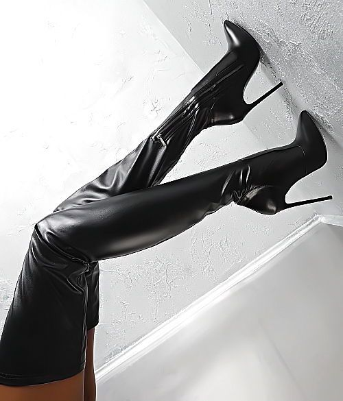 MADE IN ITALY NEU HIGH HEELS STRETCH PY3 OVERKNEE BOOTS STIEFEL LEDER SCHWARZ 43   Kleidung & Accessoires, Damenschuhe, Stiefel & Stiefeletten   eBay!