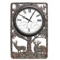 rustic outdoor clock
