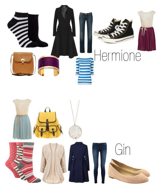 """Scarlet and George- Hermione and Ginny's christmas presents"" by emogirl19954 ❤ liked on Polyvore featuring Cole Haan, Debenhams, Oasis, Orla Kiely, Alexander McQueen, J Brand, 7 For All Mankind, Converse, Vera Wang Lavender Label and Miss Selfridge"