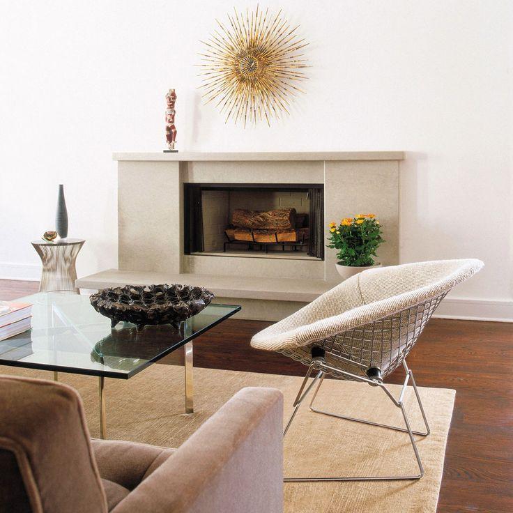 mid century lounge 14 best the bertoia diamond chair images on pinterest - Mid Century Lounge Chair