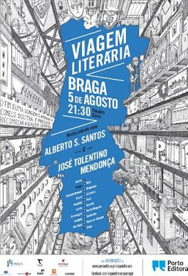 Braga recebe penúltima etapa da Viagem Literária - http://mymemoriesmyworld2014.blogspot.pt/2016/08/braga-recebe-penultima-etapa-da-viagem.html