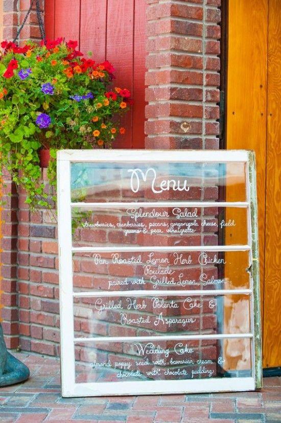crooked willow farms wedding planner jessie and nicks outdoor wedding glass menu board farm restaurantrestaurant ideascoffee - Farmhouse Restaurant Ideas