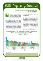 Menores de 15 años en la Unión Europea y proyecciones para 2050. Eurostat, 2014