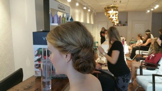 #rolled #updo by us.