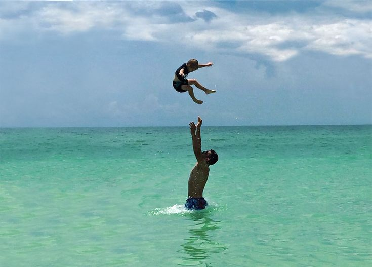The sky's the limit for this energetic beach baby. Fun in the sun on Anna Maria Island. Book your Island Vacation Rental home at http://beachrentals.mobi/ And enjoy your time in paradise