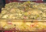 Receta de Pastel de Patatas con Bacon y Queso (microondas).