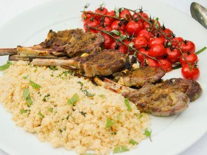 "Moroccan Grilled Lamb Chops (Cooking for Jeffrey: Back to School Surprise) - Ina Garten, ""Barefoot Contessa"" on the Food Network."