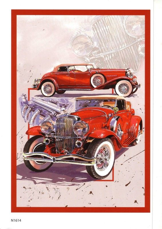 Vintage car base sheet