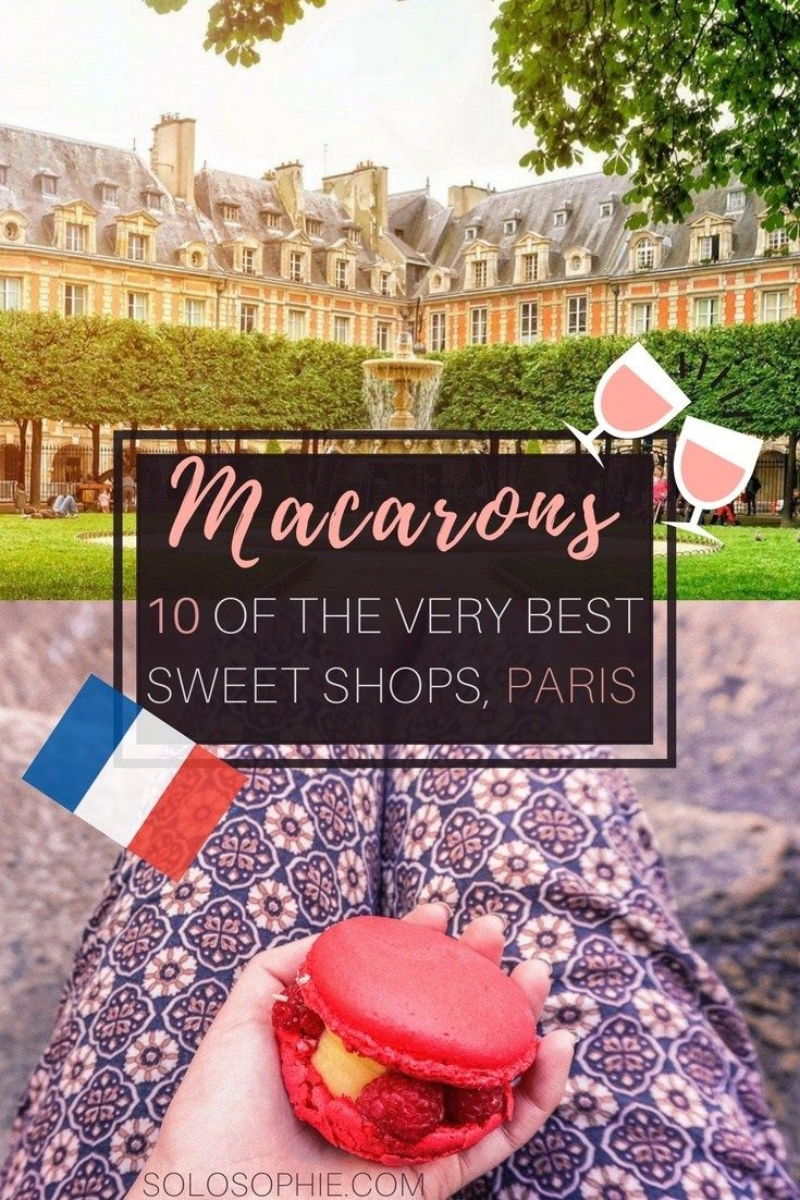 Here's your guide to finding the very best macarons in Paris, France. Where and when to go for finding French sweets in the French Capital. Ladurée, Carette, etc.