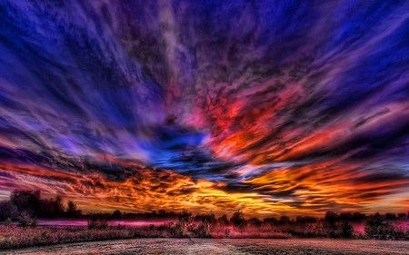 """""""ultimate sunset"""" from nature on desktopnexus"""