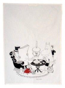 Mummi kjøkkenhåndkle, Mummipappa leser av Tove Jansson (Andre varer)