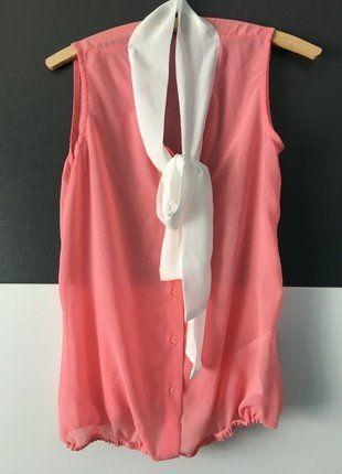 Kaufe meinen Artikel bei #Kleiderkreisel http://www.kleiderkreisel.de/damenmode/blusen/143045992-rosa-bluse-mit-schleife-in-xs