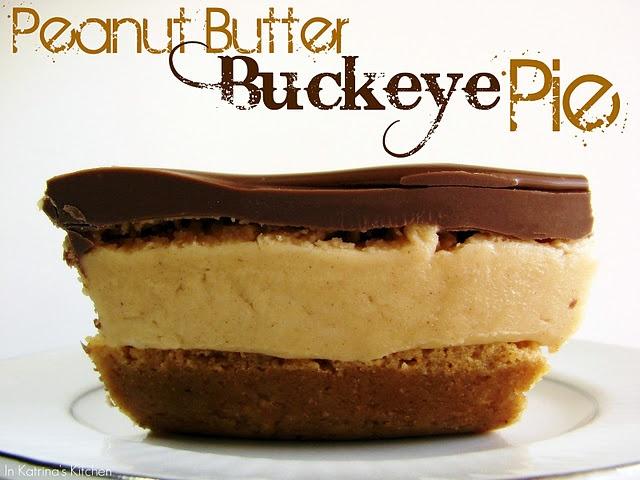 Peanut Butter Buckeye Pie! Oh MY! via @katrinaskitchen #lovethepieDesserts, Katrina Kitchens, Buckeyes Pies, Sweets Treats, Food, Chocolates Peanutbutter Pies, Favorite Recipe, Peanut Butter, Butter Buckeyes