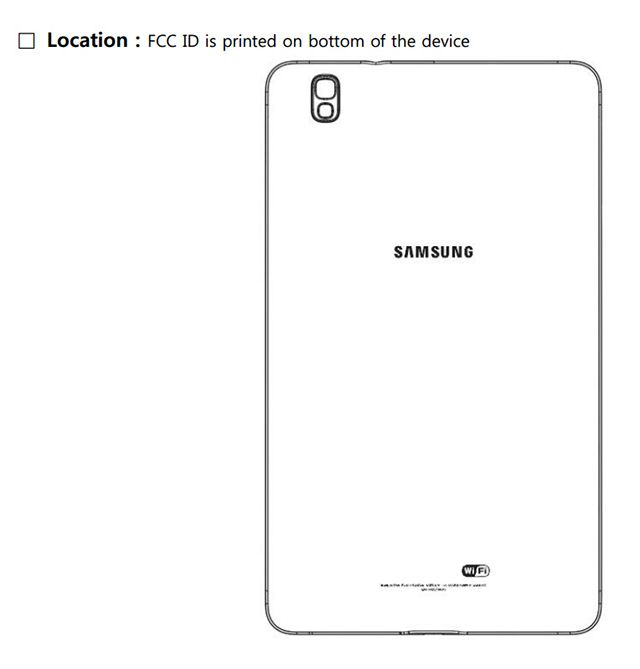 Samsung Tablet Passes Through FCC - Could Be The Rumored Galaxy Tab Pro 8.4