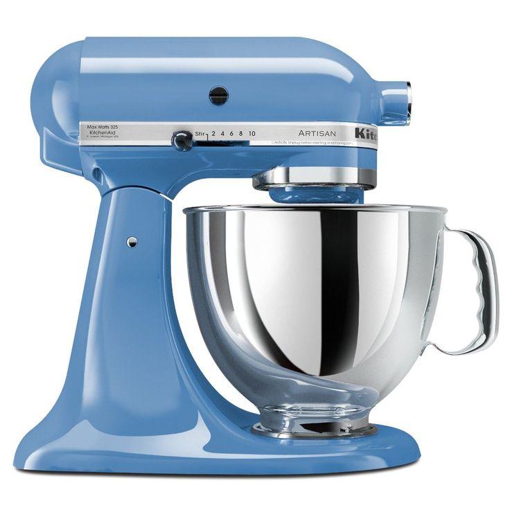 KitchenAid KSM150PSCO Cornflower Blue 5-quart Artisan Tilt-Head Stand Mixer  by KitchenAid