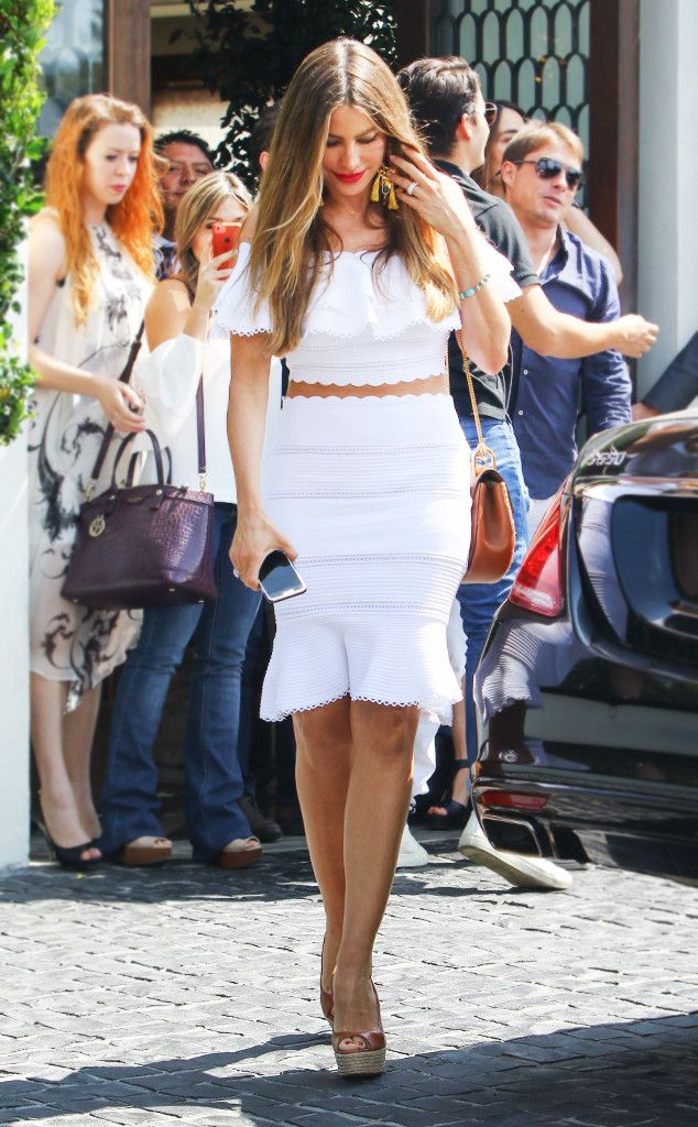 Sofia Vergara recently decked herself out in ruffles, but what really caught our eye was that amazing skirt. It's about time your closet had one, too.