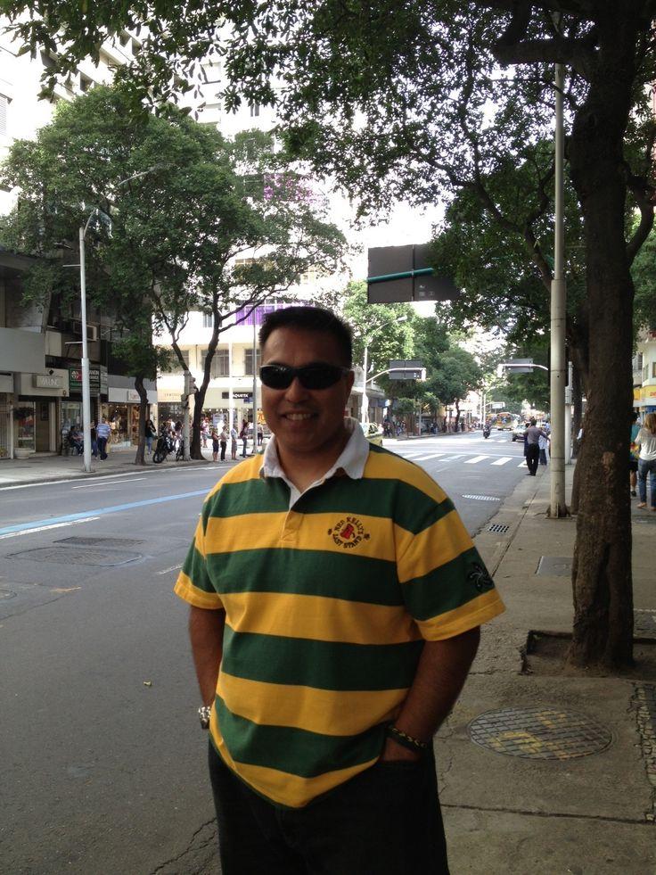 VP, Fred Alejo in Rio de Janeiro