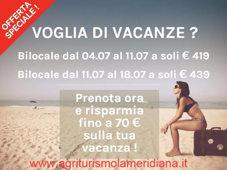 Info: http://www.agriturismolameridiana.it/offerte-luglio-agriturismo-abruzzo/