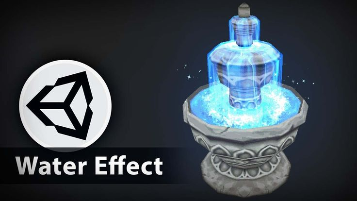 Game Effect Tutorial - Water Effect Fountain - Unity 3D