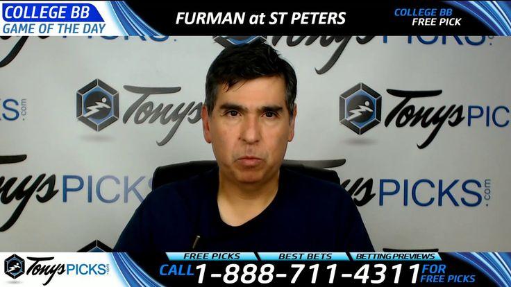 Furman vs. St Peters Free NCAA Basketball Picks and Predictions 3/29/17