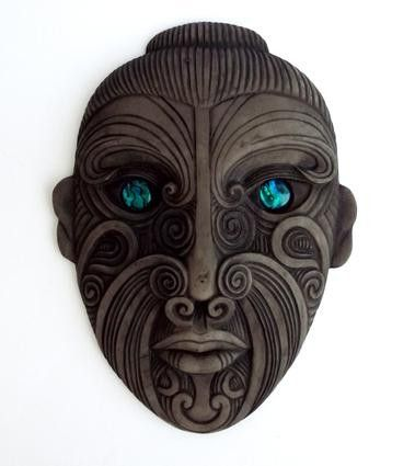 Maori Mask, New Zealand. See The Virtual Artist gallery: www.theartistobjective.com/gallery/index.html