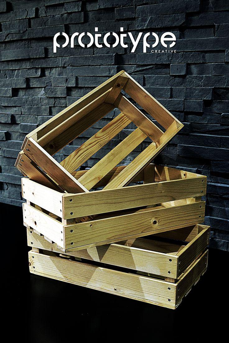 DIY Crates - Fruit and vegetables crates handmade. Ro - Ladite pentru fructe si legume