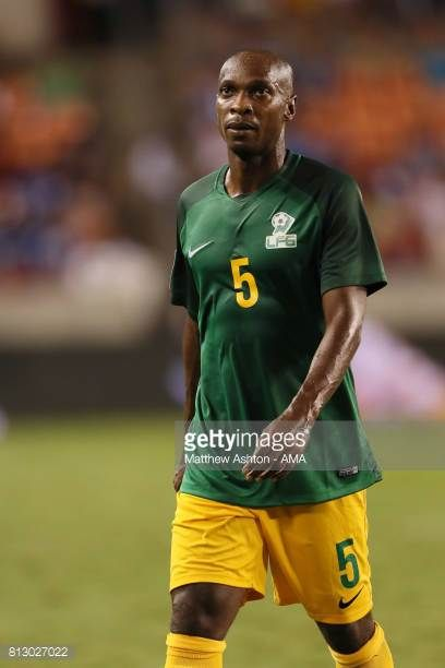 Cedric Fabien of French Guiana during the 2017 CONCACAF Gold Cup Group A match between Honduras and French Guiana at BBVA Compass Stadium on July 11...