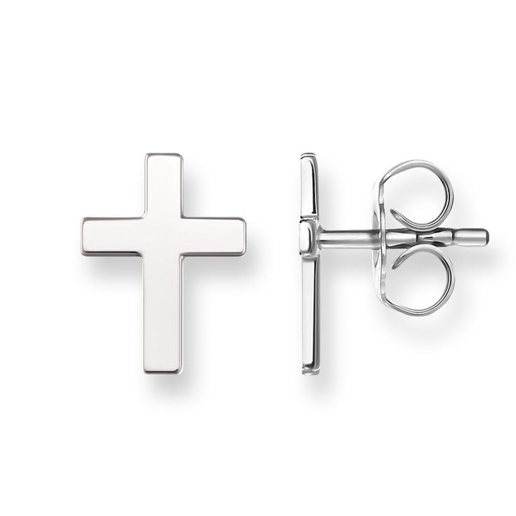 Earring Wedding Earrings Stud Brincos Bijoux Jewelry Women Christmas Gifts Boucle D'Oreille Femme Brinco Pequeno Silver Cross