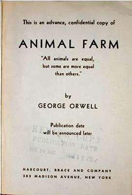 Politics in animal farm essays