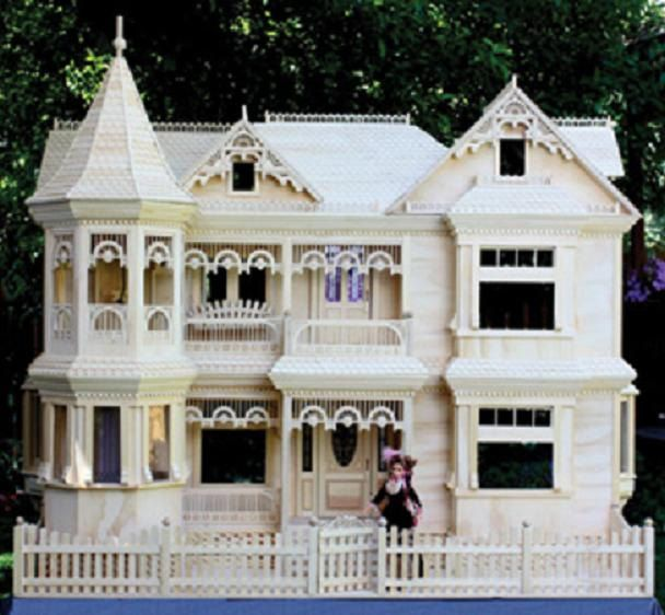 307 best images about diy barbie furniture on pinterest for Plan victorian dollhouse