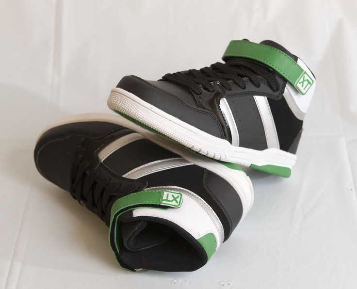 RETRO COOL: Green, black and white running shoes by UrbanXT, $24.99 at swhshoes.com. Enter to win a $ 500 shopping spree with @TheProvince and Brentwood Town Centre: http://theprov.in/pinandwin #backtoschool