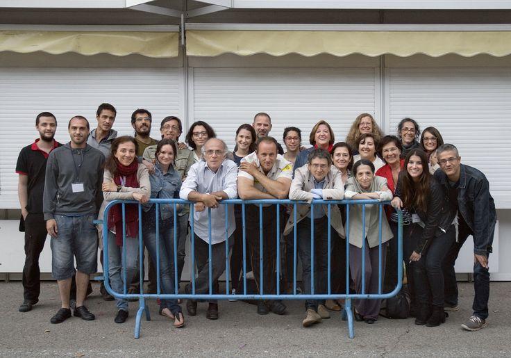 14/6/15 Todas estas personas... y alguna más han hecho posible FLM15 y trabajarán por FLM16. Foto © Jorge Aparicio/ FLM15