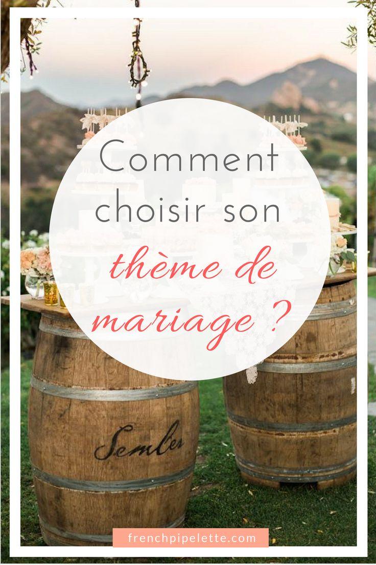 Remark choisir son thème de mariage ? #marriage ceremony #mariage #weddingtheme #concepts #…