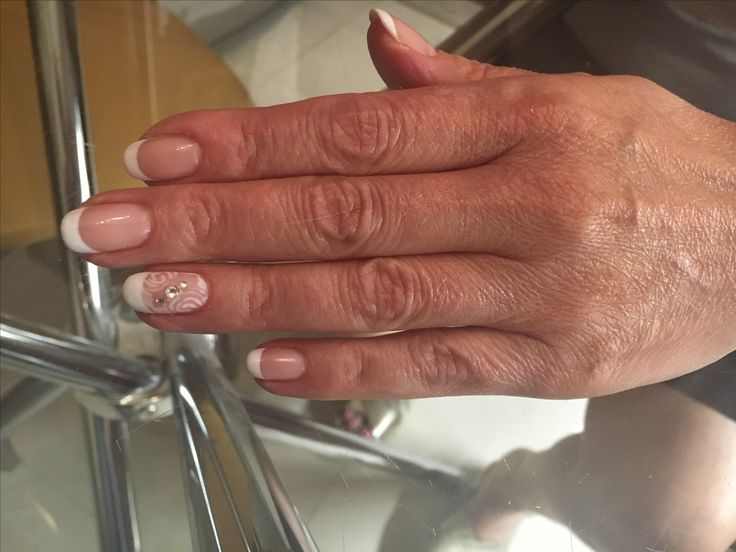 Pink French manicure!!!!