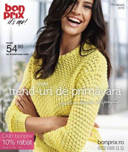 BonPrix catalog - Noile trenduri de primavara - pana la 4 iulie 2016 ☛ Catalog-Oferta.com