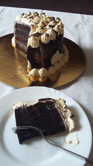 Csibekalandok: Csokoládés madártej torta