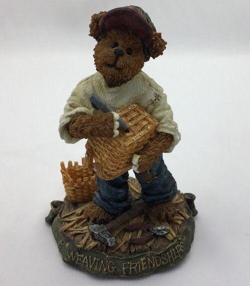 Boyds Bear Kenny B Weaver...Weaving Friendships Longaberger Baskets 228425LB  | eBay