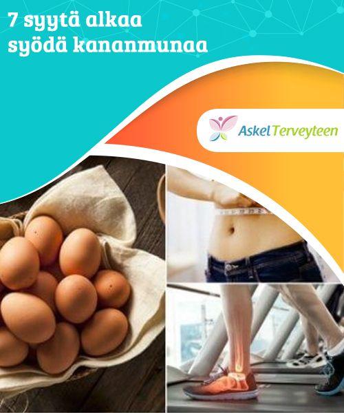 7 syytä alkaa syödä kananmunaa  Kananmunilla on ihan turhaan huono maine. Itse asiassa ne ovatkin hyvin terveellistä ruokaa, ja mikäli syöt niitä 3-5 kertaa viikossa, teet hyvän työn kehosi terveyden kannalta.